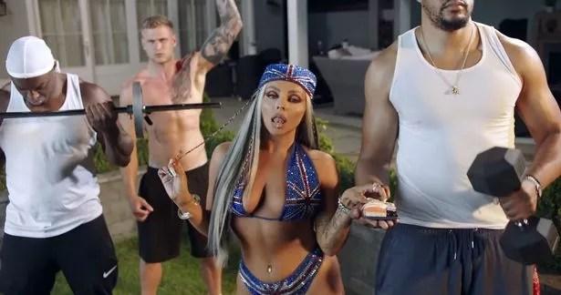 Jesy Nelson new music video Boyz P Diddy and Nicki Minaj