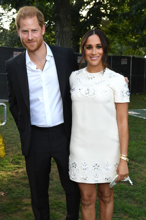 Prince Harry, Duke of Sussex and Meghan, Duchess of Sussex attend Global Citizen Live