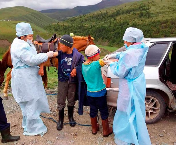 Vaccinations agains the plague have been carried out in the Tuva region of Russia