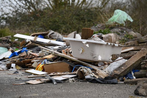 flytipping south wales