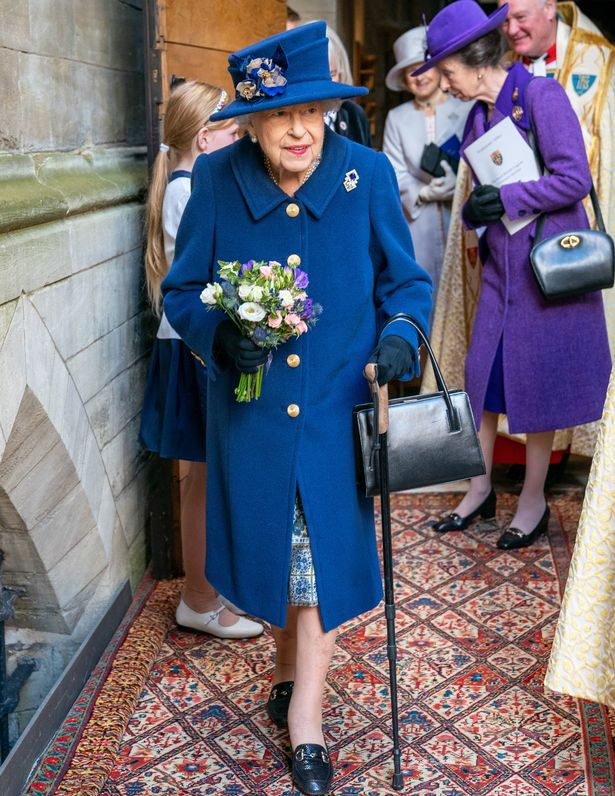 Her Majesty was at Westminster Abbey commemorating the 100th anniversary of the Royal British Legion