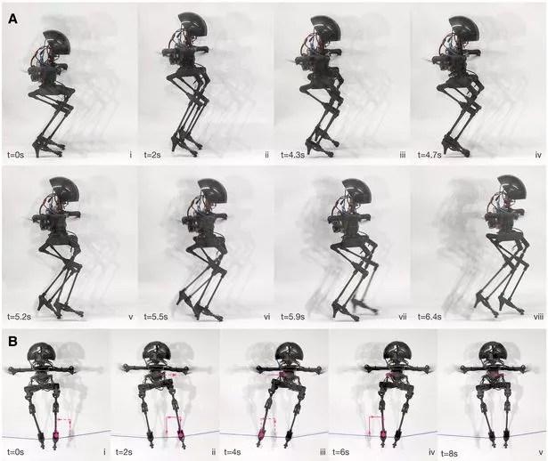 Two-legged drone robot LEONARDO flies, runs, and skateboards 'better' than humans