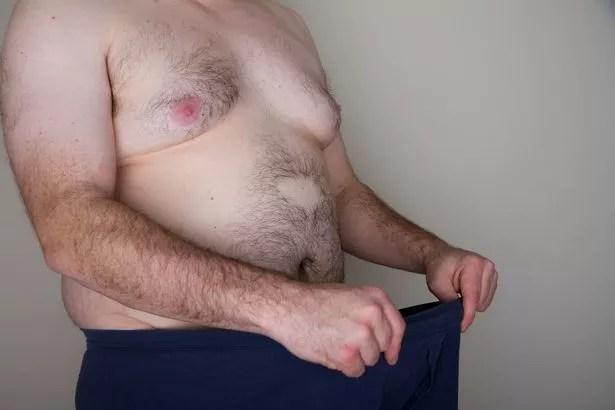 Man wearing underpants