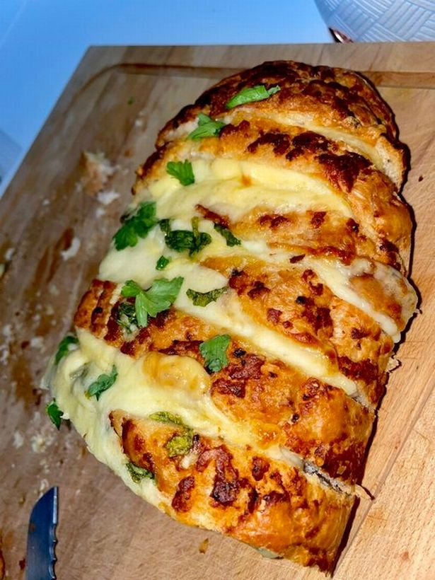 Cheesy tiger loaf