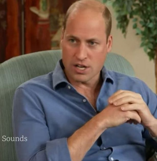 Prince William made the comments as he spoke to BBC Newscast's Adam Fleming