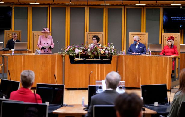 She made the comments after the sixth opening of the Welsh Parliament on Thursday