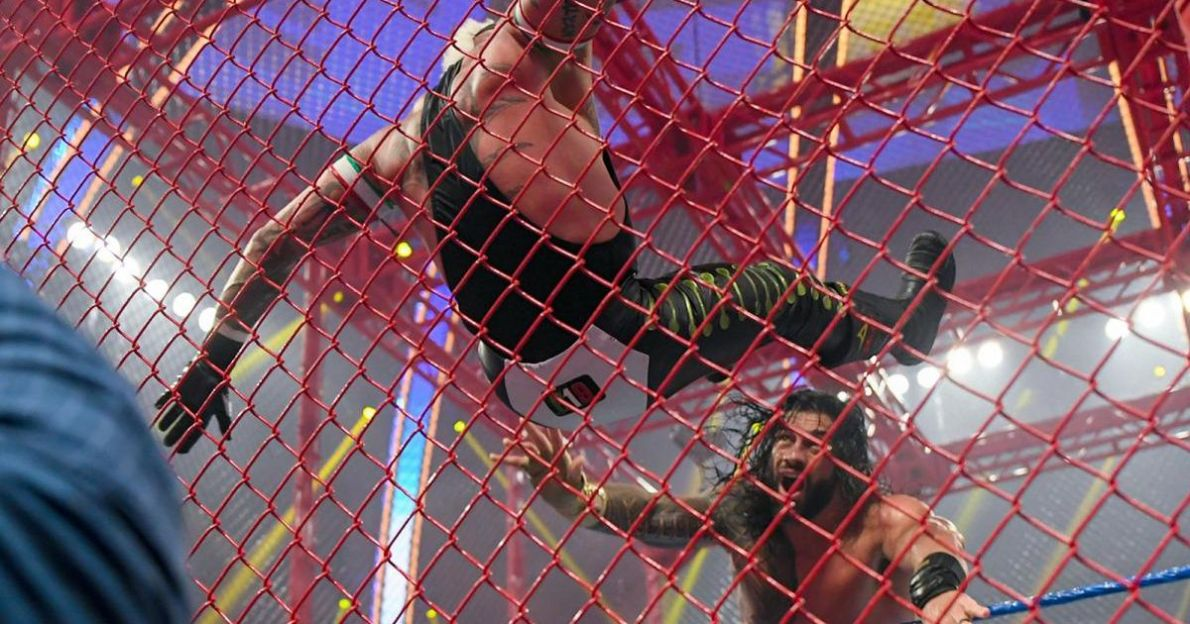 Rey Mysterio gives Roman Reigns an unpleasant blow in the brutal hell of  cell defeat - London News Time