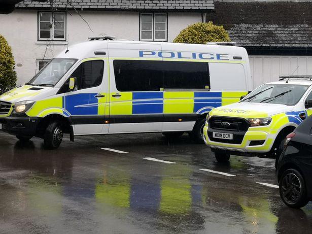 Police in Winsford