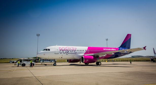 Wizz Air is known for its pink planes