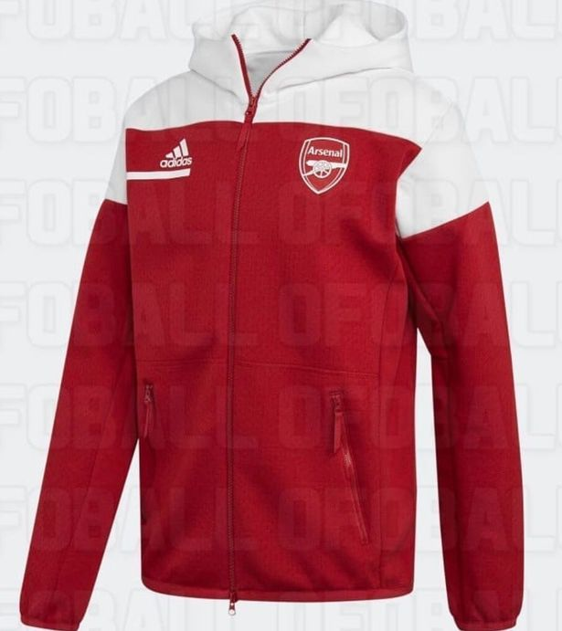 New Arsenal Adidas pre-match jacket now available.
