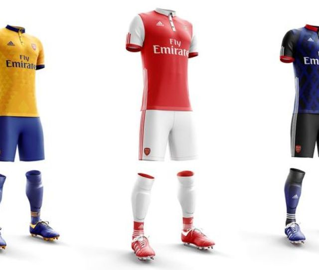 Arsenal Kitarsenal Supporters Get Creative With Their Own New Adidas Kit Concepts And They Are Brilliant