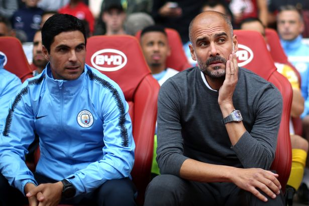 Pep Guardiola denies surprising claims about Arsenal boss Mikel ...