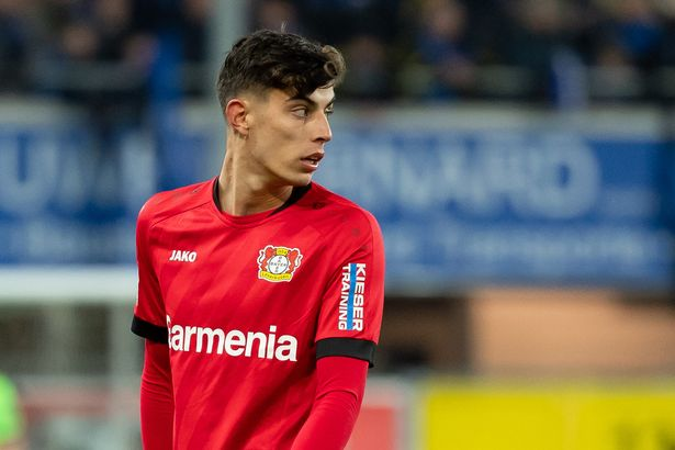 Kai Havertz is reportedly closing in on a move to Chelsea
