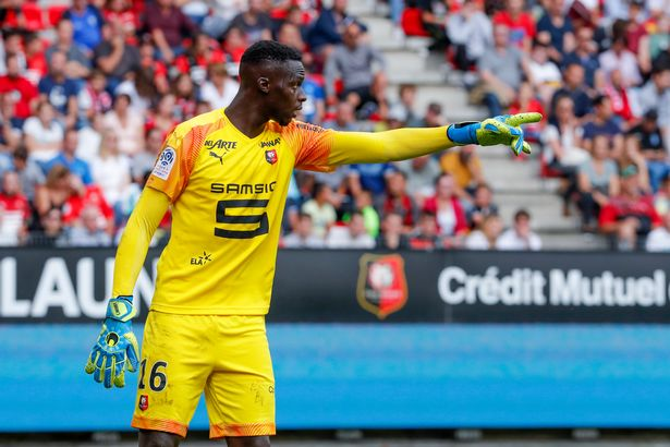 Edouard Mendy has been linked with a move to Chelsea