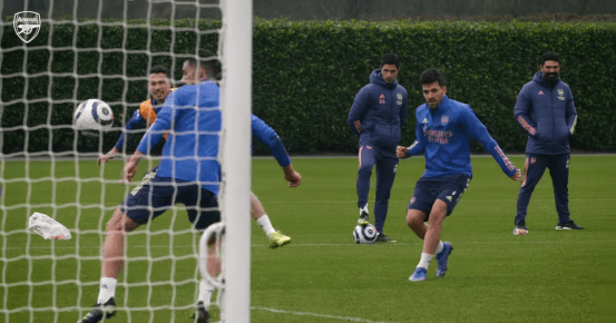 Arsenal get more injuries and what Gabriel Martinelli did in training as Mikel Arteta looked further