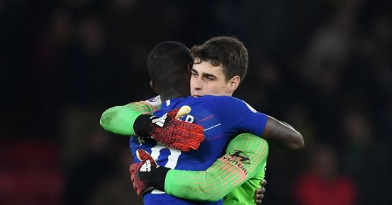 Antonio Rudiger sends two words to Kepi Arrizabalaga after the collapse of Chelsea