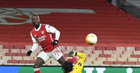 One Arsenal player stands out for an impressive moment in the Europa League despite the draw of Slavia from Prague