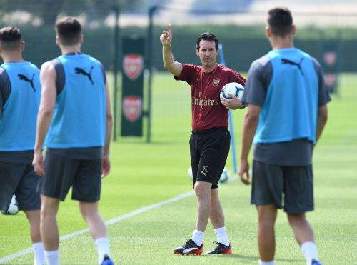Image result for arsenal unai emery