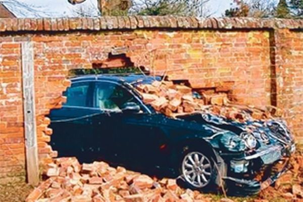 Car crashes through wall in latest village accident - Get ...