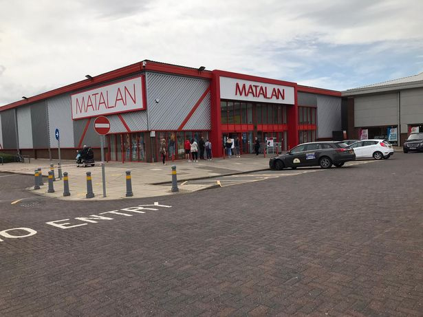 Matalan in Grimsby reopened after it closed in March due to the coronavirus pandemic