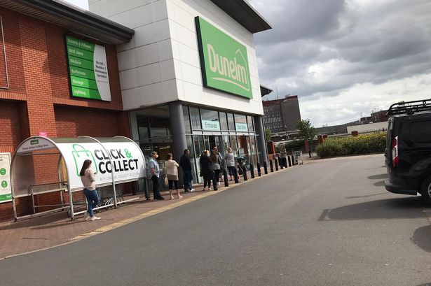 Dunelm in Grimsby reopened to customers