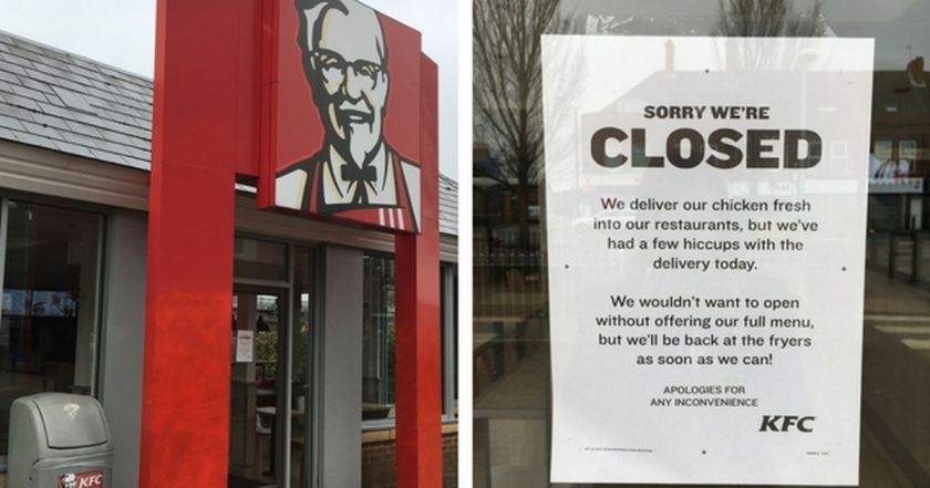 Image result for kfc closed