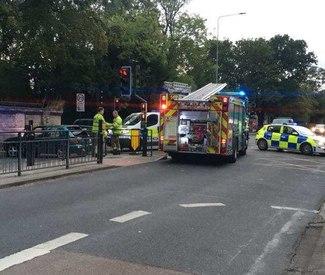 A Humberside Police Spokeswoman Said Officers Were Called Following Reports Of A Two Car Crash