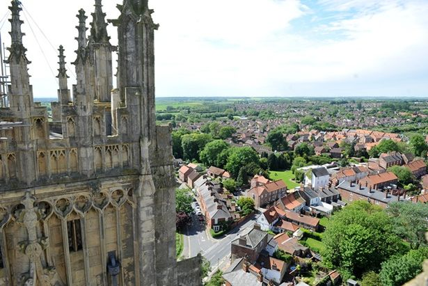 It might be a bit of a hike, but the view from Beverley Minster is well worth it.