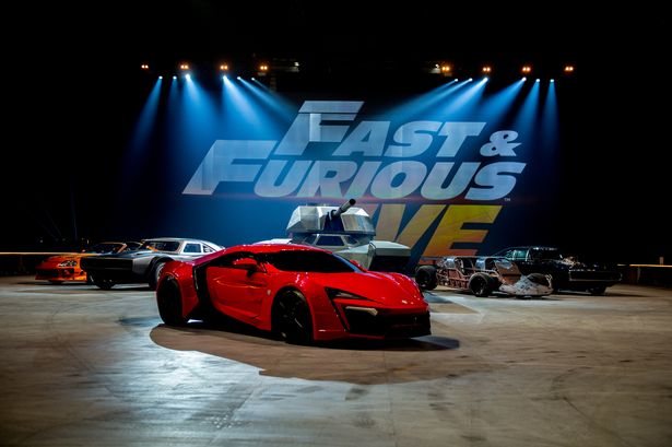 Fast And Furious Live review  Incredible stunt show sure to be a hit      Fast   Furious Live  technical rehearsal at NEC Arena on December 18  2017  in Birmingham  England   Image  Ollie Millington Getty Images