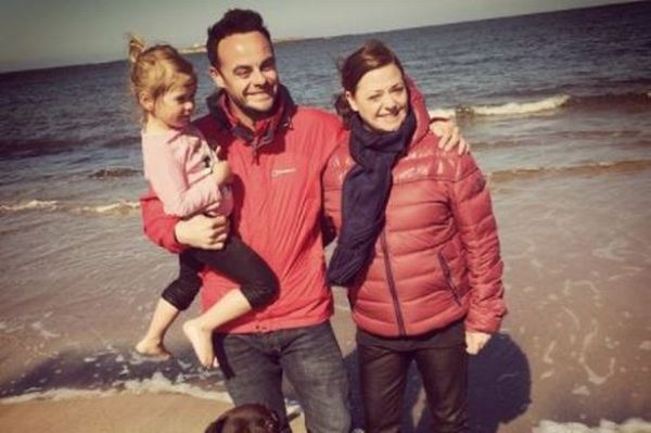Ant McPartlin's estranged wife Lisa Armstrong supports Dec ...