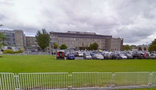 Patients rot in ambulances outside the busy Irish hospital as the Covid crisis worsens