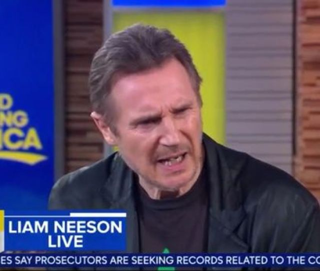 Liam Neeson Opened Up On Good Morning America Today