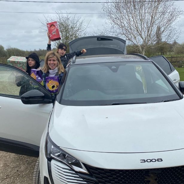 Kate Garraway's good Easter news as she gets loaned a car after hers was stolen
