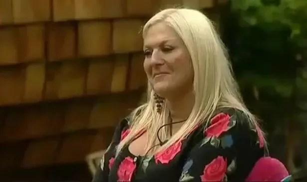 Vanessa Feltz listens to Nikki Grahame during Ultimate Big Brother in 2010