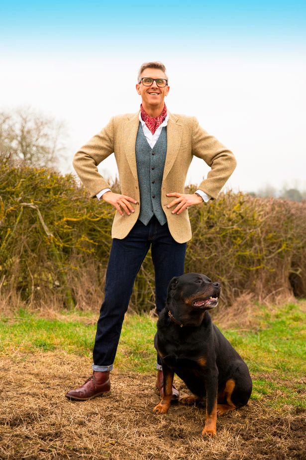 Animal trainer Graeme Hall, AKA the Dogfather, launched a podcast called Talking Dogs