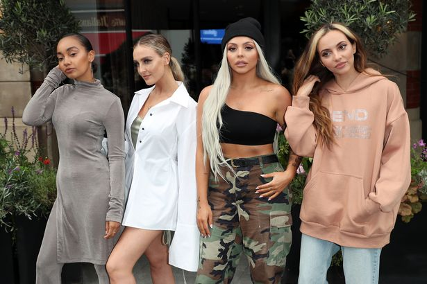 Leigh-Anne said her Little Mix bandmates were being nominated, while she wasn't