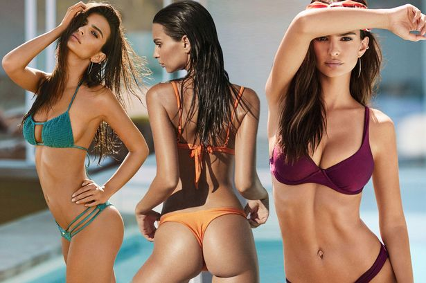 Emily Ratajkowskis Incredible Bikini Body Sets Pulses