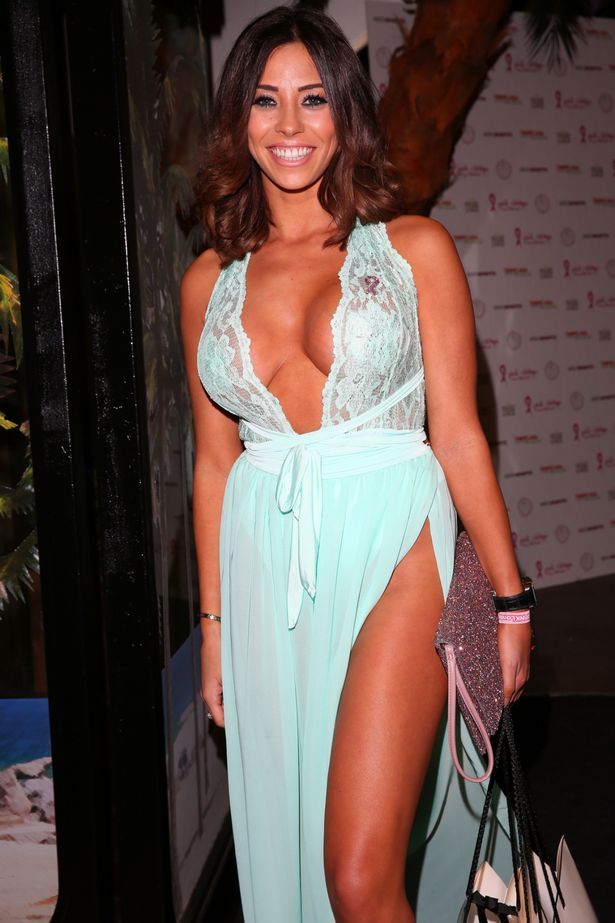 Pascal Craymer Flashes Nipple Covers In See Through Lace