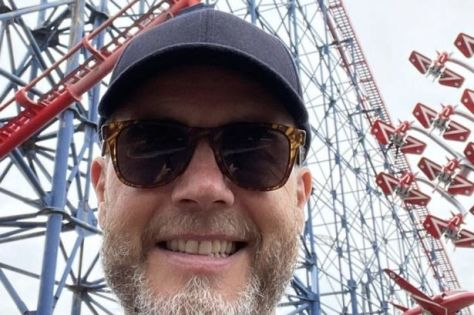 Barlow in Blackpool at the weekend