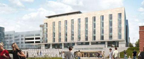 What the Holiday Inn as part of the Talbot Gateway masterplan is set to look like