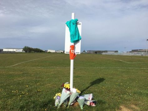 The moving tributes left to the nine-year-old boy who died last night (May 11)