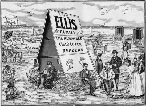 Ellis Family advert circa 1896