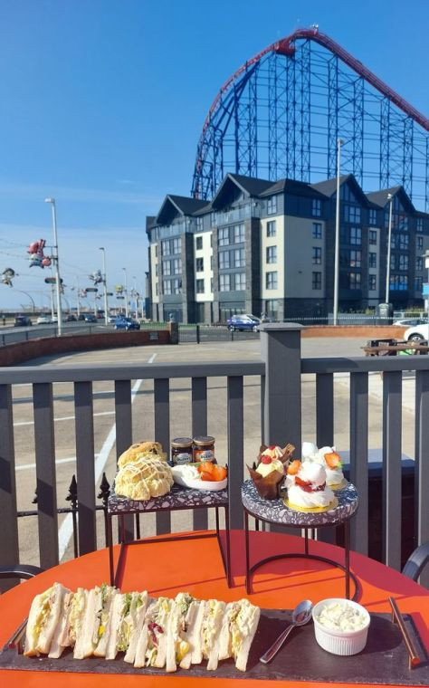 A spectacular view of the Pleasure Beach