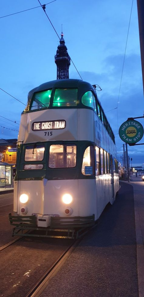 Supernatural Events have teamed up with Blackpool Heritage Trams to bring back the UK's only ghost hunting tram