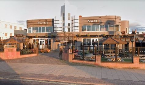 The distinctive 1930s 'art deco' building on South Shore is up for sale in Blackpool
