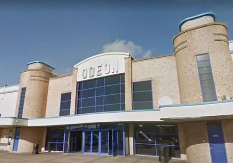 Blackpool Odeon Cinema on Rigby Road