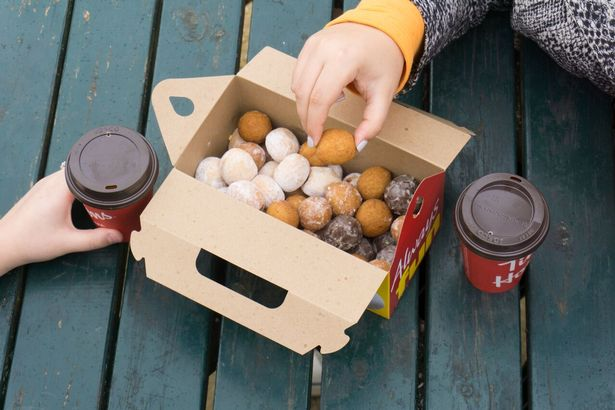 Timbits are a popular treat at Tim Hortons