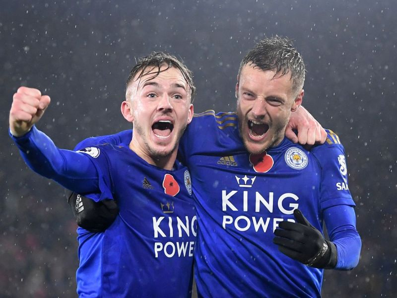 James Maddison and Leicester City team-mates 'all say same thing' about  playing with Jamie Vardy - Leicestershire Live