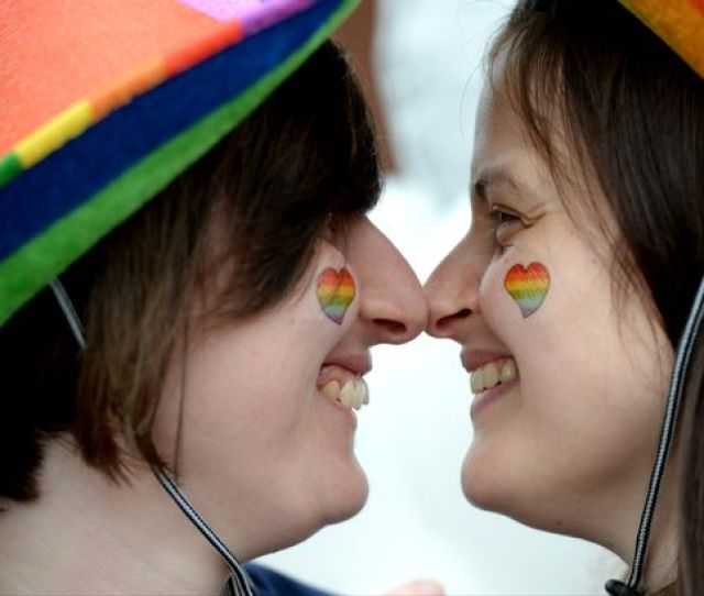 Loving Lincoln Pride Are Couple Mel Fiddles And Sarah Fox Who Are Getting Married Next Week