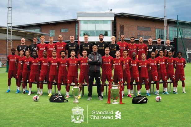 How one major addition to Liverpool's annual team photo makes all ...